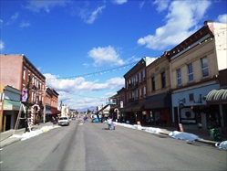 October 15, 2011 - Christmas Movie filmed Downtown Fernie