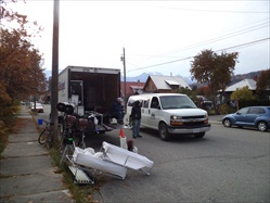 Oct 28,2011 Downtown and Filming @ B&B.